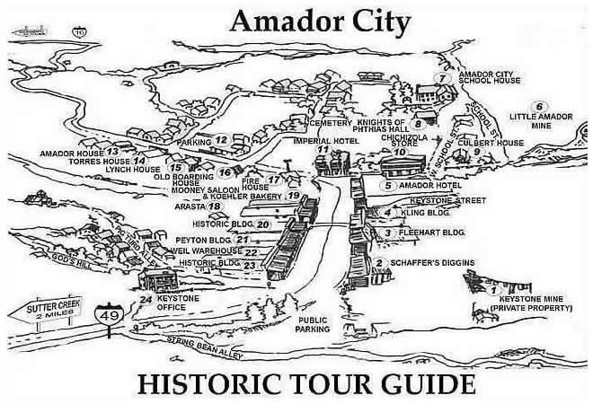 walking tour historic map